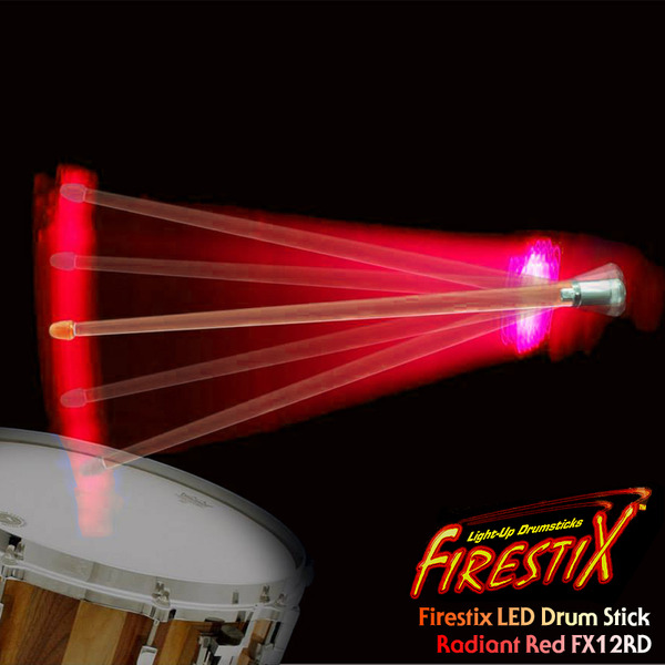 TrophyMusic Firestix 트로피뮤직 LED 드럼스틱(FX12RD)