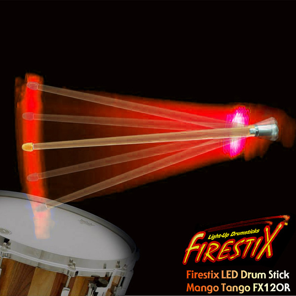 TrophyMusic Firestix 트로피뮤직 LED 드럼스틱(FX12OR)